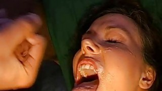 Gorgeous beauties love to give blow gang bang