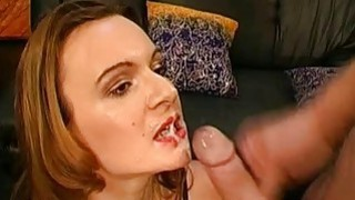 Beautiful gals love to give blow gang bang