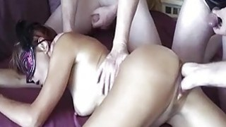 Amateur wife gang bang fist fucking
