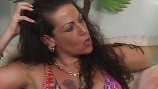Filthy mother moans while getting pussy penetrated deep by some younger guy