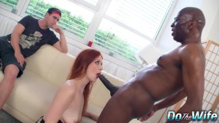 Inadequate Husband Has to Watch His Wife Get Banged by a Black Guy