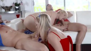 Mom and partner's daughter gang bang first time I Pledge Allegiance To My