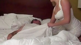 Wakes up Step Dad For Fuck