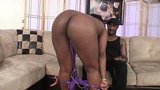 All-black oral sex session